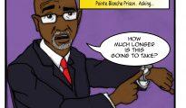 Cartoon - Claret Connor on Prison Reform