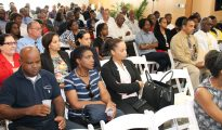 Civil Servants at information session