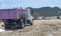 dump accident scene
