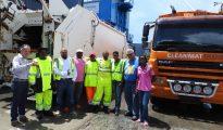 2 garbage trucks for MIN VROMI