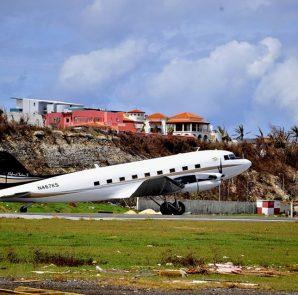 Cargo Plane at SXM Airport