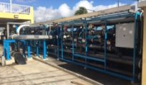 Feedwater header and MMF face pipe skids