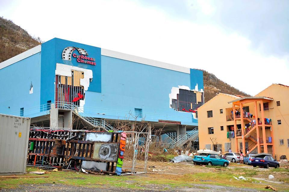 Hurrican Irma Damages Caribbean Cinemas