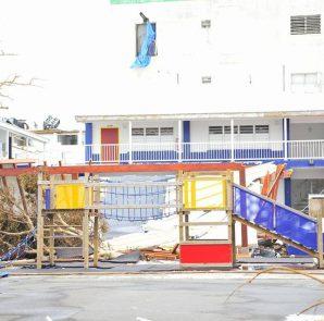 Hurricane Irma Damages School