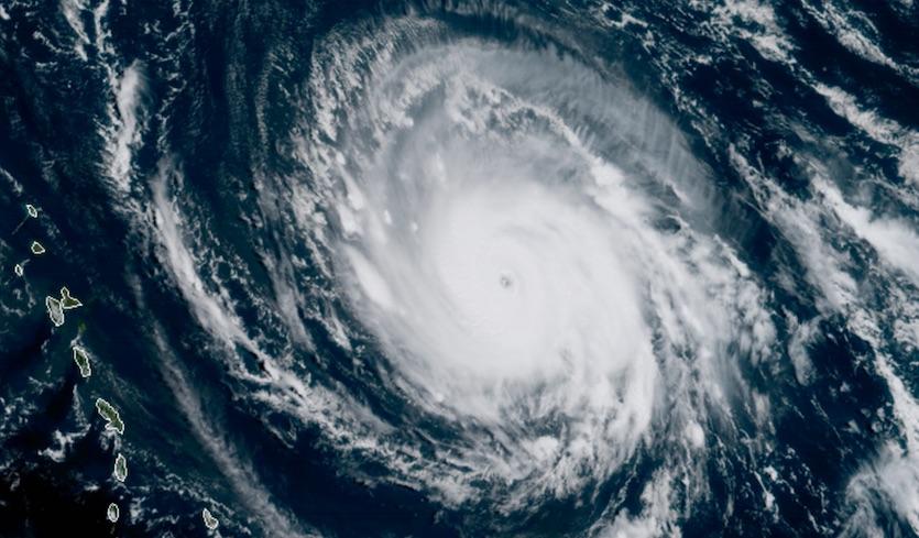 Hurricane Irma cyclone
