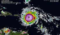 Hurricane Irma satellite cyclone image 05sep2017 817PM