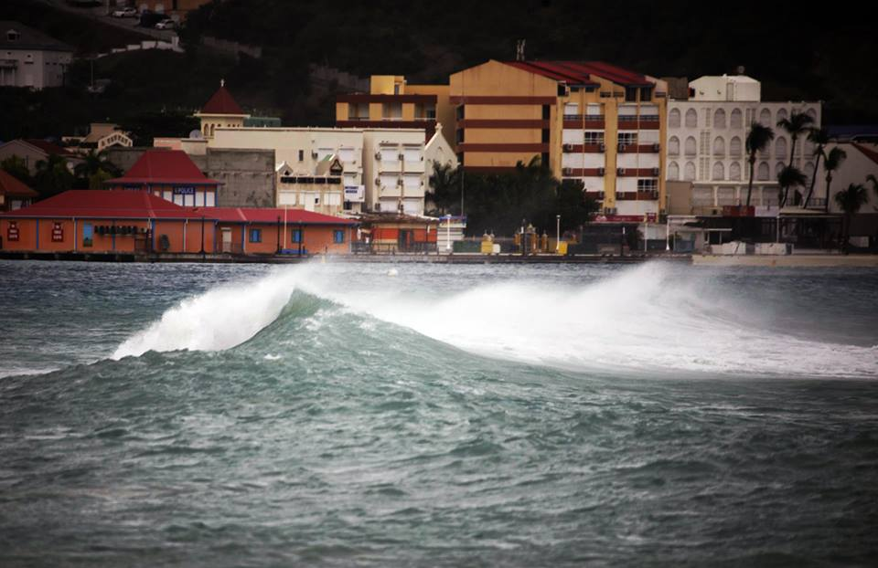 Philipsburg storm waves