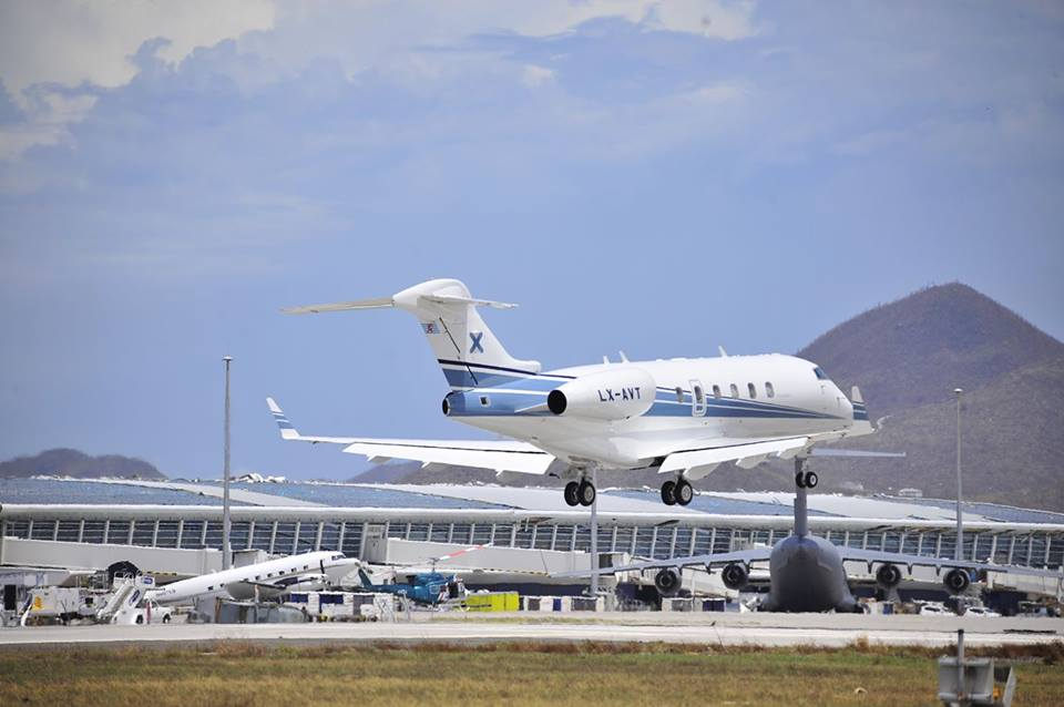 Private Jet Exodus from SXM Airport