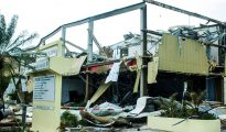 VROMI Yellow Building damage Hurricane Irma