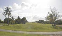 Mullet Bay golf course terrain