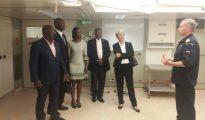 French officials visit Karel Doorman navy ship