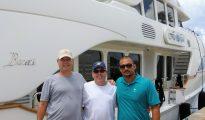 Mega yacht captain