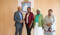 AUC donates school office supplies