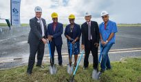 FBO groundbreaking SXM Airport