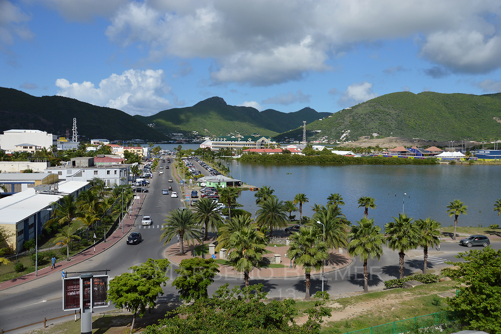 Philipsburg - Capital of Dutch St. Maarten