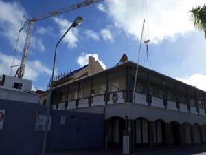 Wederopbouw Sint Maarten november 2017
