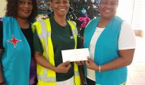 Chuchubi Donation Wit Gele Kruis for the St Maartn Home
