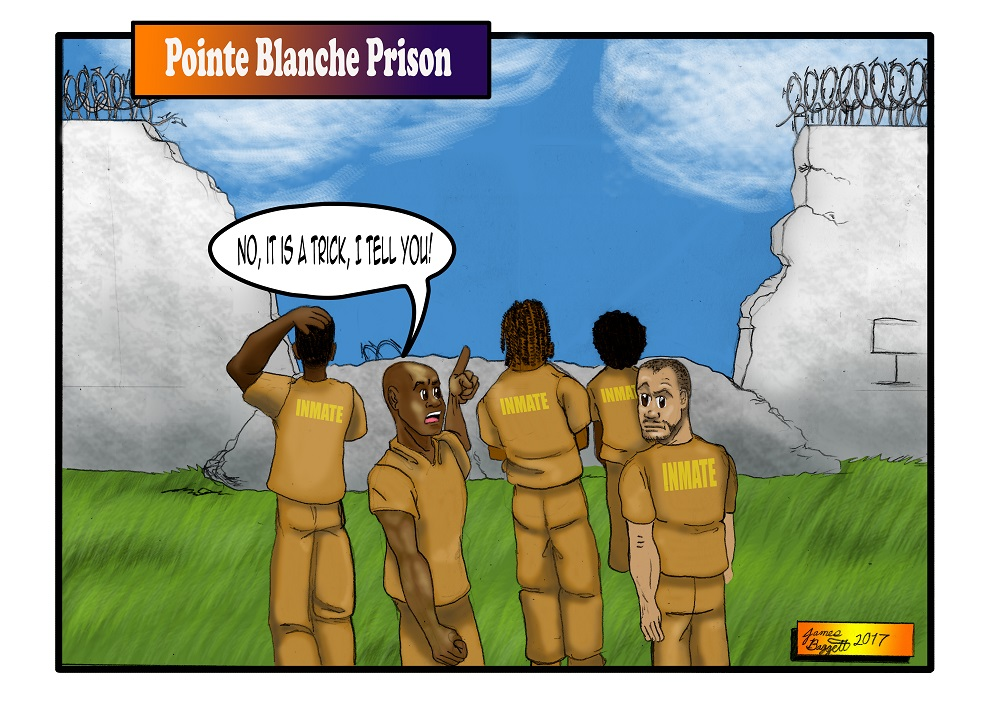 Point Blanche Prison Wallbreak