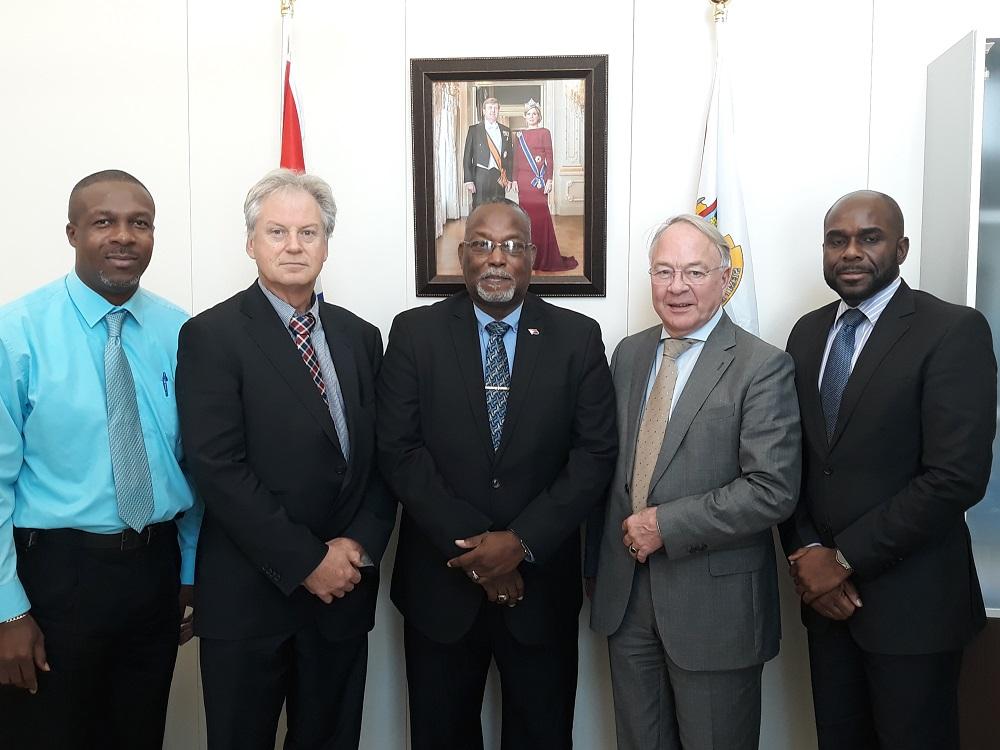 Progress Committee meetting Minister of Justice Rafael Boasman