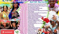 SCDF Carnival Calendar 2018