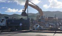 dump site cleanup Galis Bay