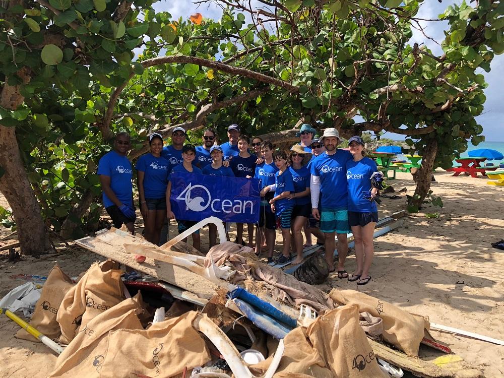 Clean up Mullet Bay