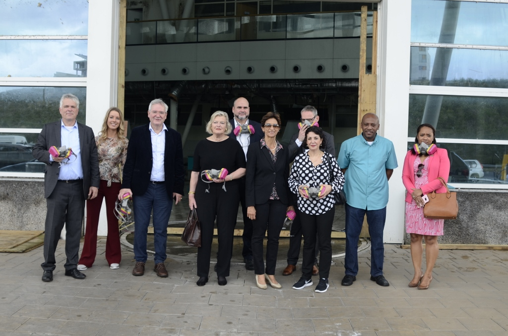 Dutch Chambers Chairpersons visit Sint Maarten