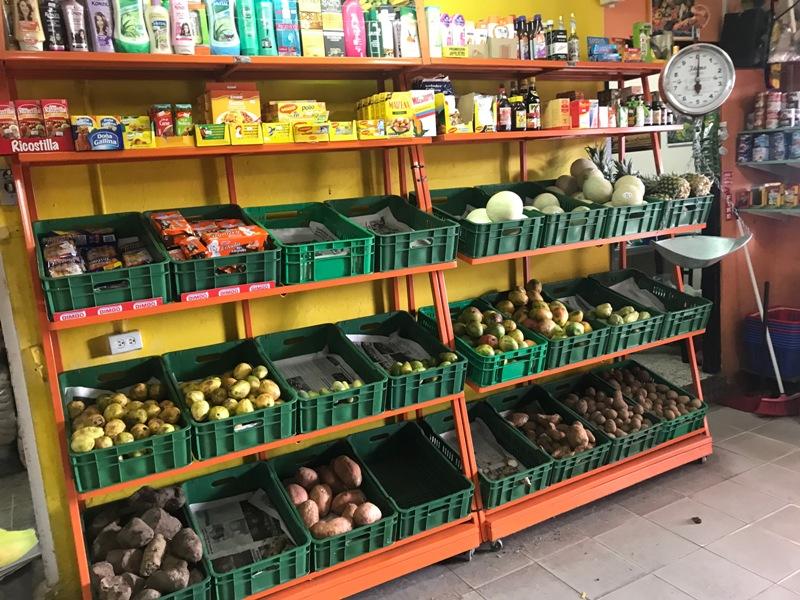 Fruits & Vegetables stand Aruba