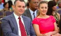 Gerrit Schotte Cicely van der Dijs - Photo CuracaoChronicle