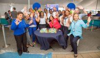 JetBlue 10 year Anniversary SXM Airport