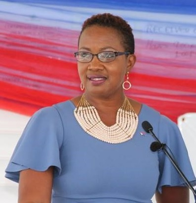 Minister of Culture Silveria Jacobs