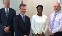 PM Leona Marlin-Romeo and UNDP