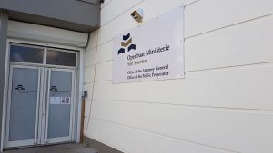 Public Prosecutor's Office entrance