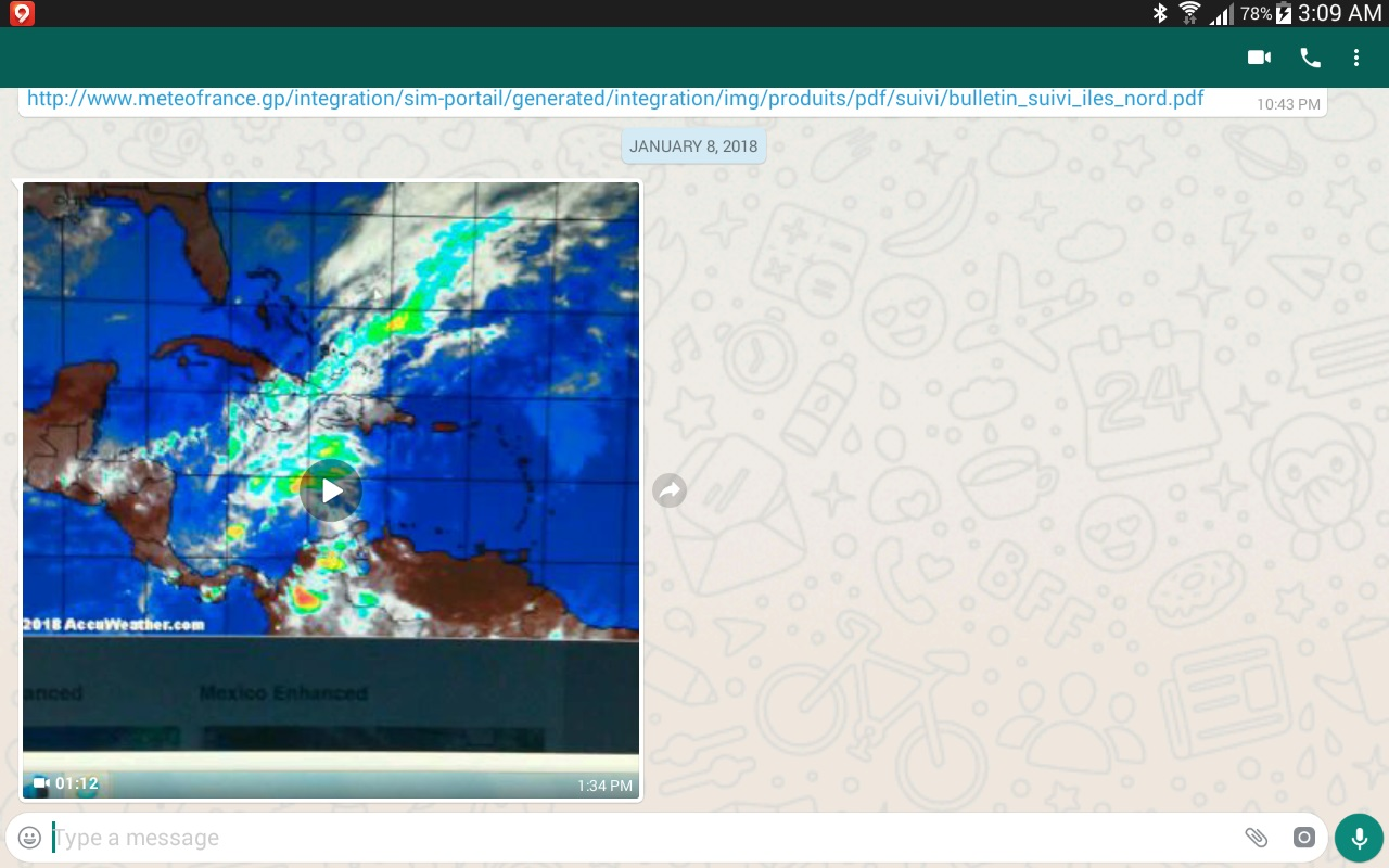 Screenshot Video Weather System