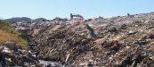 St. Maarten landfill dump on fire smoking