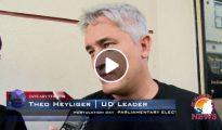 Theo Heyliger - UD Leader - StMaartenNews Video