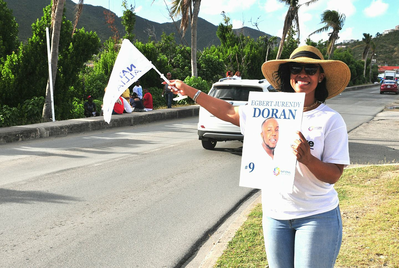 Doran supporter