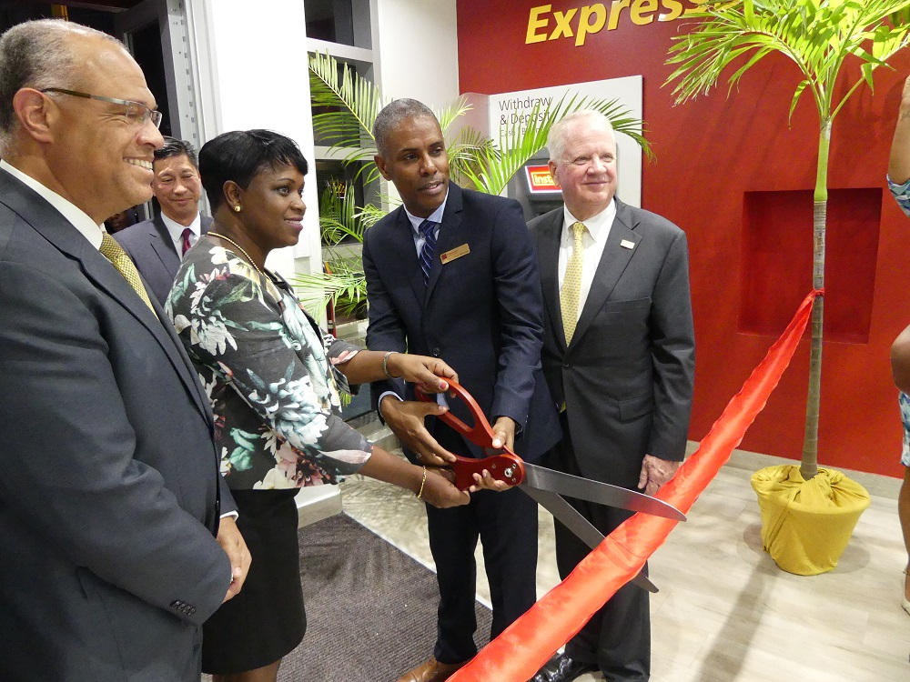 FirstCaribbean branch opening 20180131 - HH