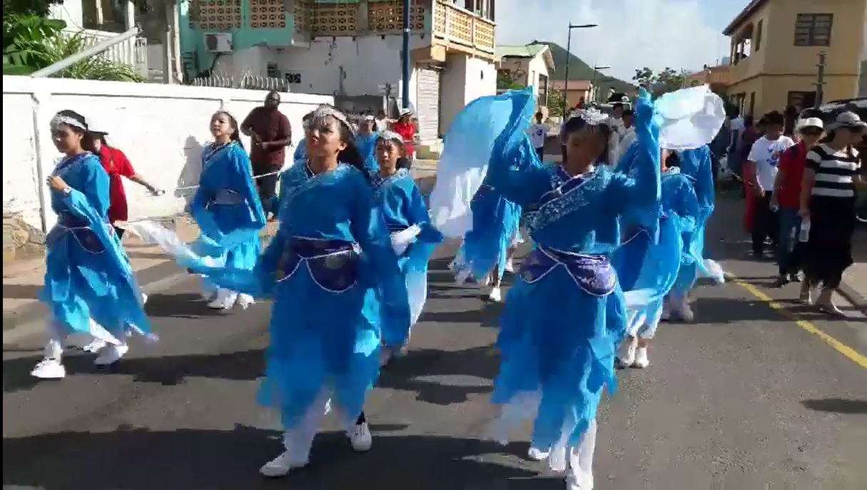 French Carnival Children Parade 2018 Chinese Troupe