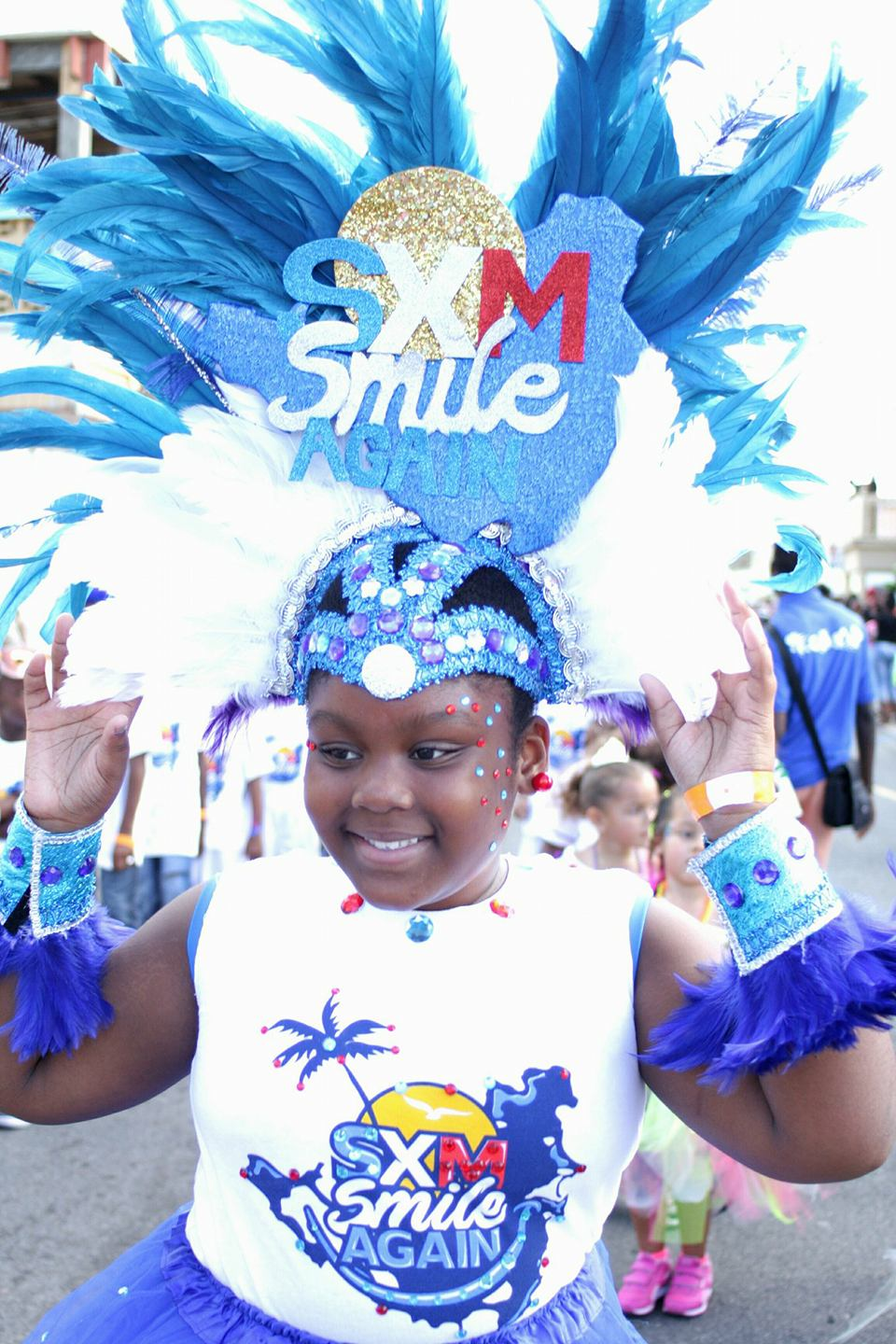 French Carnival Children Parade 2018 Participant