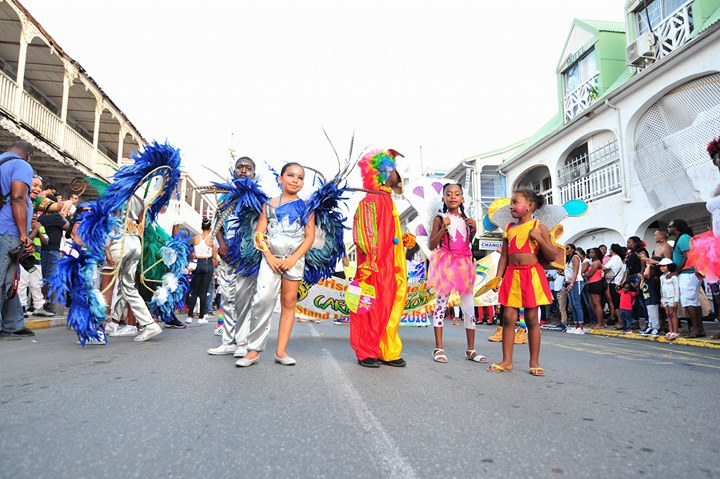 French Carnival Children Parade 2018 Participants 3