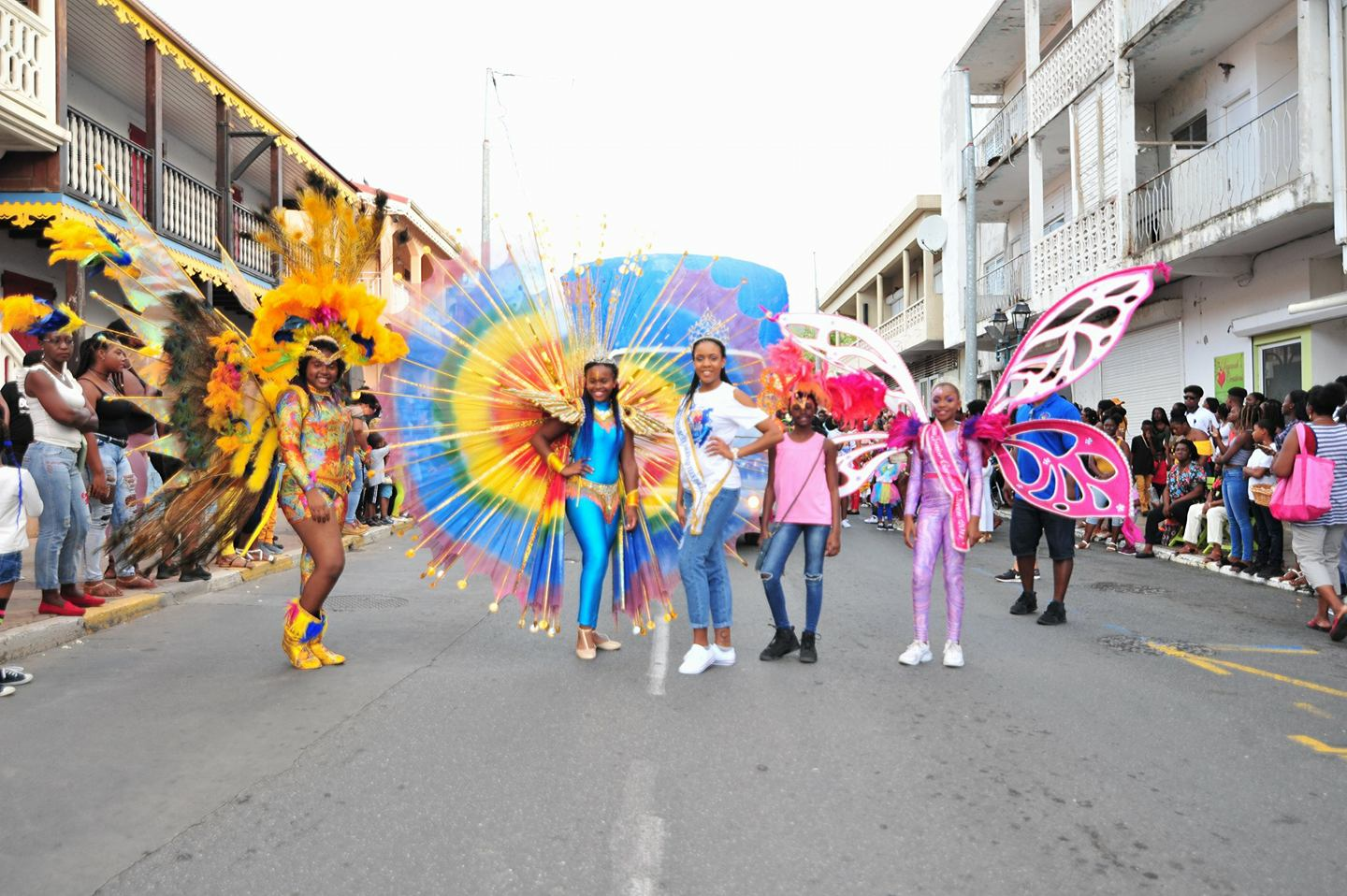French Carnival Children Parade 2018 Participants 8