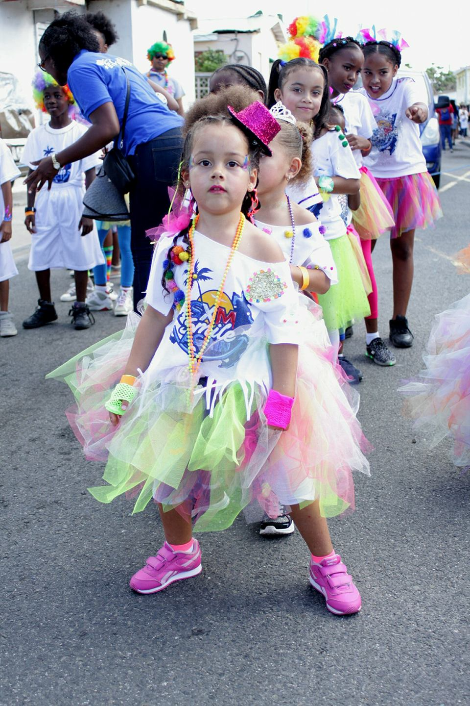 French Carnival Children Parade 2018 Participants