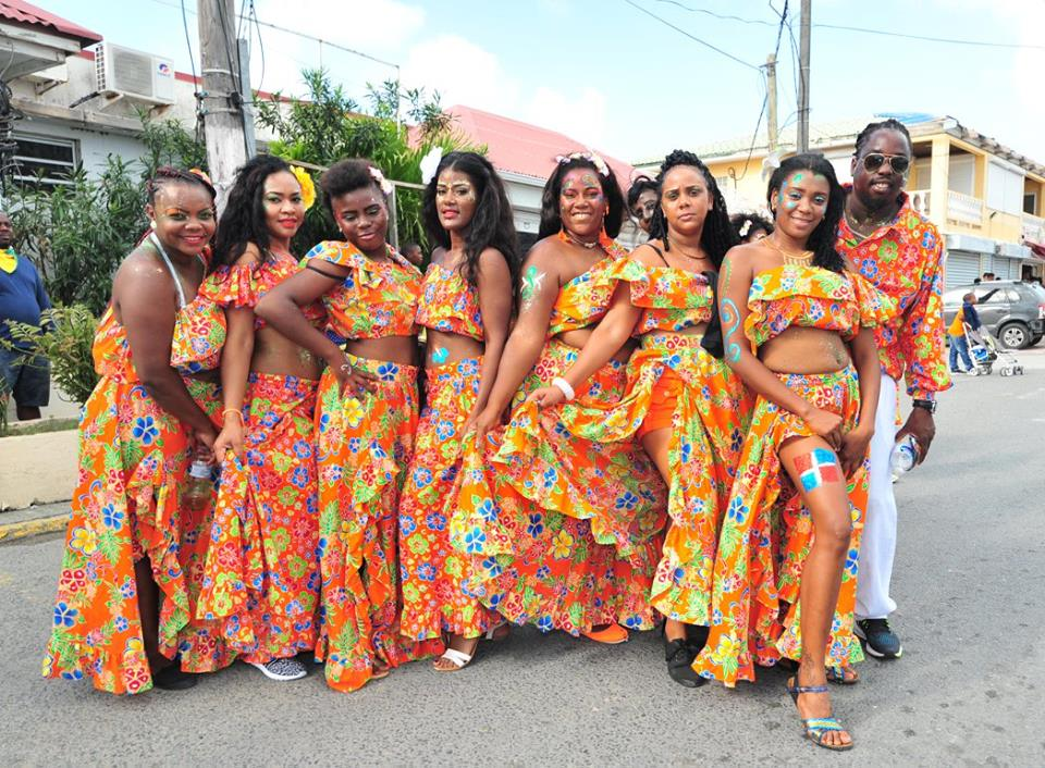 French Carnival Mardi Gras 2018 group