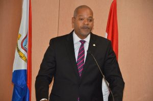 Minister Cornelius de Weever - Photo by Roland Bryson