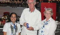Rotary - token appreciation Hilbert Haar