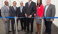 SXM Airport officials open Departure Pavilion 20180209