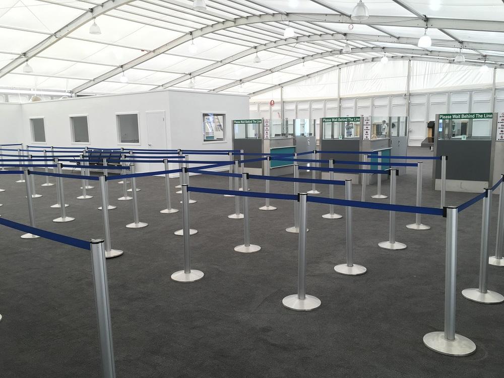 Arrival Pavilion SXM Airport 20180323