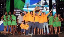 PM Leona Marlin-Romeo with winning team