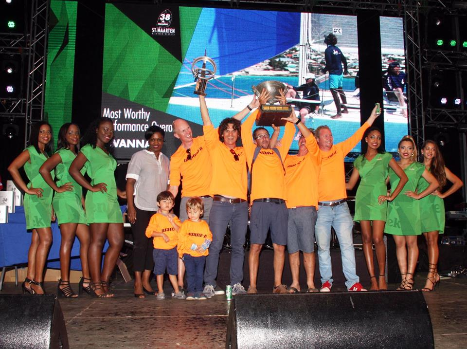 PM Leona Marlin-Romeo with winning team overall based on points